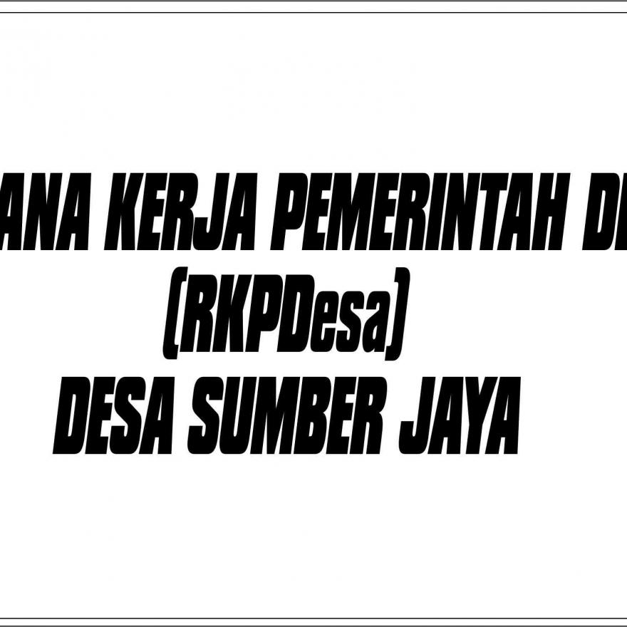 RKPDesa