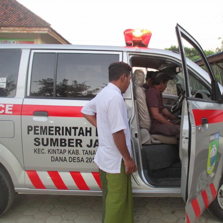 Pengadaan 1 Mobil Ambulance Desa Guna Mendukung Pelayanan Kesehatan Masyarakat